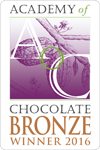 Academy of Chocolate 2016 Bronze Award