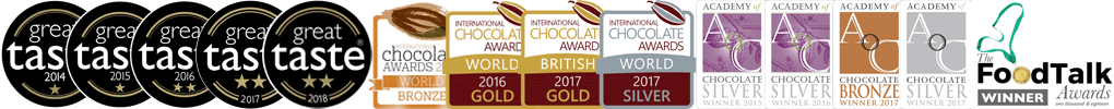 Multi-award-winning chocolatier