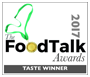 FoodTalk Awards 2017 - Gold Winner