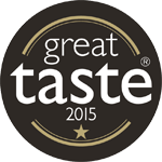 Great Taste 2015 1-Star Award