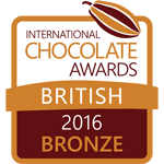 International Chocolate Awards 2016 Bronze Award
