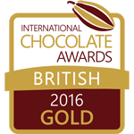 International Chocolate Awards 2016 Gold Award