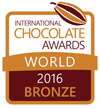 International Chocolate Awards 2016 World Final Bronze Winner