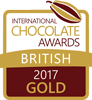 International Chocolate Awards 2017 British Gold Winner